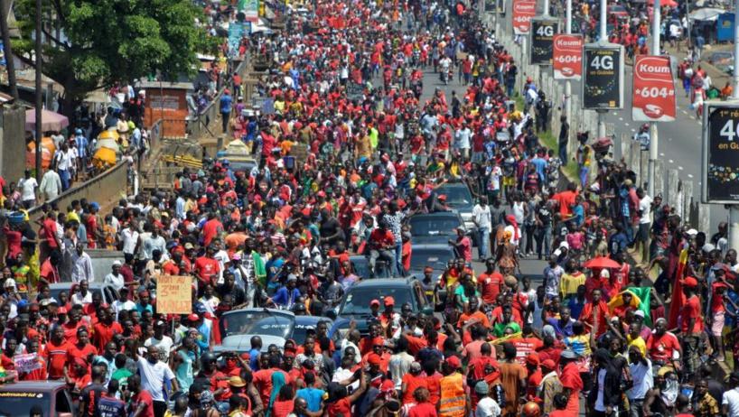 Guinée: «marche de l'ultimatum» contre un éventuel 3e mandat d'Alpha Condé