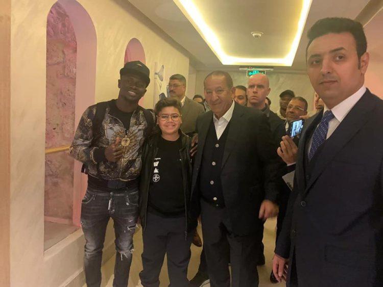 Ballon d'Or: Regardez les images de l'arrivée de Sadio Mané au Caire