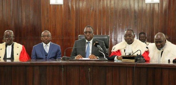 Rentrée des Cours et tribunaux : le président Macky Sall préside la cérémonie, à 9h, ce matin