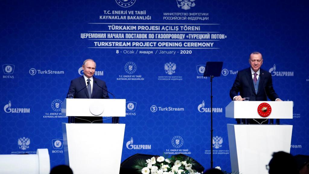 Poutine et Erdogan appellent à un cessez-le-feu en Libye