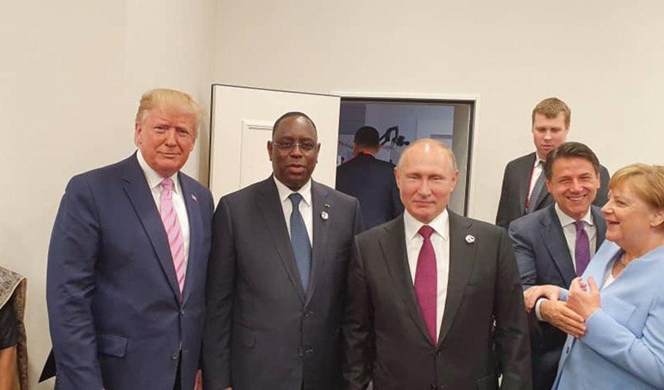 Etats Unis-Sénégal: Trump salue le leadership de Macky Sall et réitère son engagement à renforcer la coopération