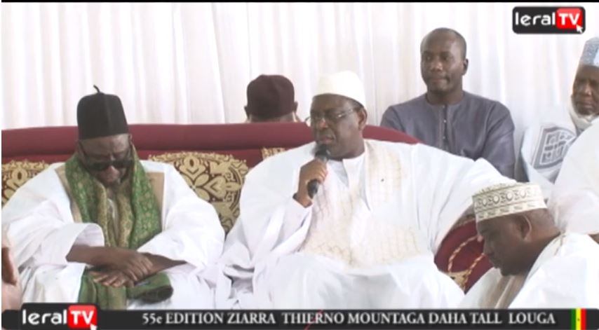 Louga: Khalife Thierno Bachirou Tall offre une résidence flambant neuve à Macky Sall