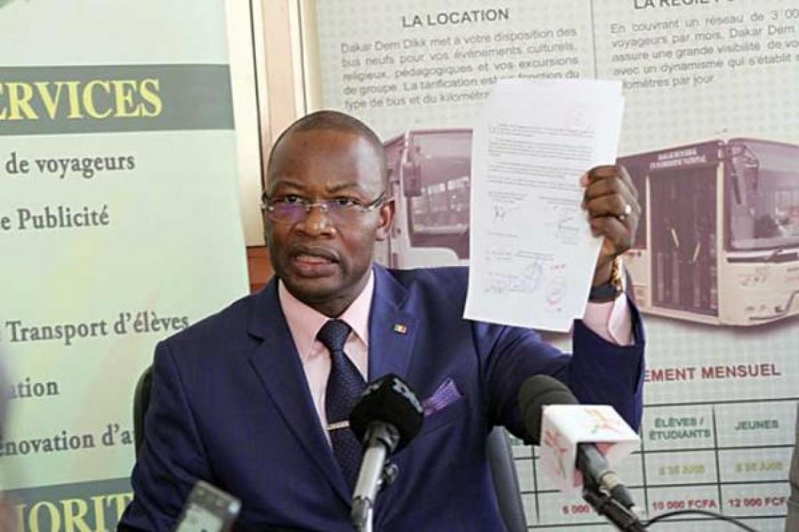 Dakar Dem Dikk: Moussa Diop réintègre le syndicaliste Diatta Fall