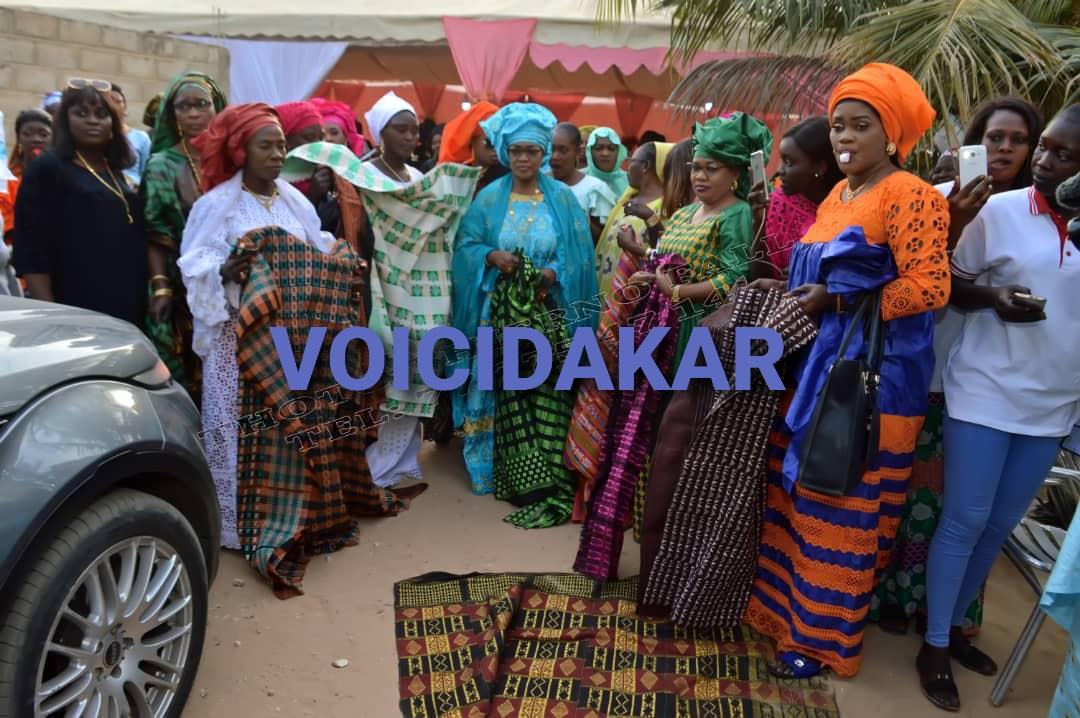 Les images du baptême de la fille de Fatou Mbaye, Madame Kara Mbodj au Sénégal
