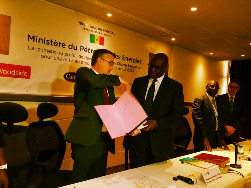 Développement phase 1 Sangomar Offshore: Makhtar Cissé donne le feu vert aux Australiens Woodside