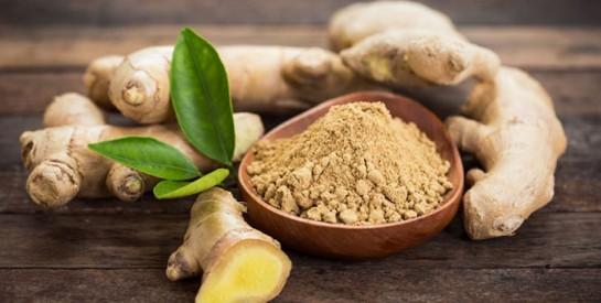 Le gingembre pour réduire les douleurs liées à l'arthrite