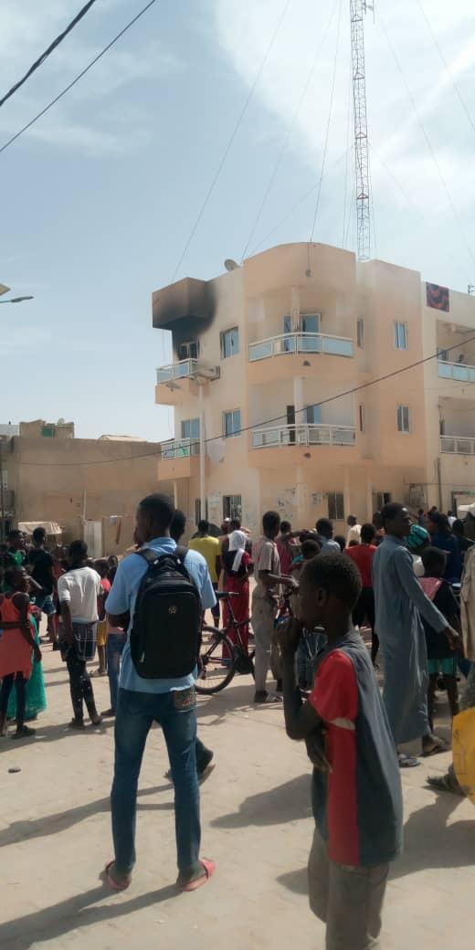 Médina Baye: La radio Baye Fm prend feu (photos)