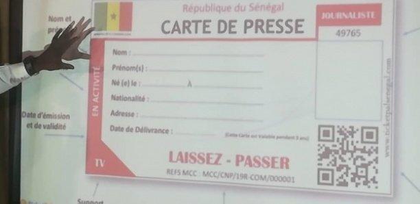Commission de la carte nationale de presse: La liste des membres retenus