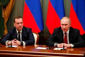 Russie: le gouvernement de Dmitri Medvedev démissionne