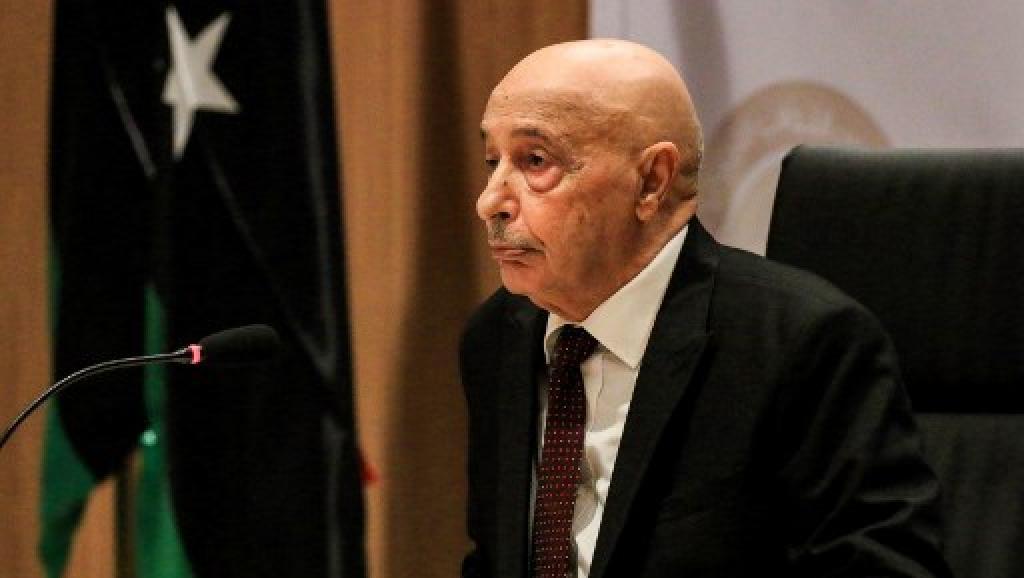 Au Caire, le chef du Parlement libyen demande le soutien des pays arabes