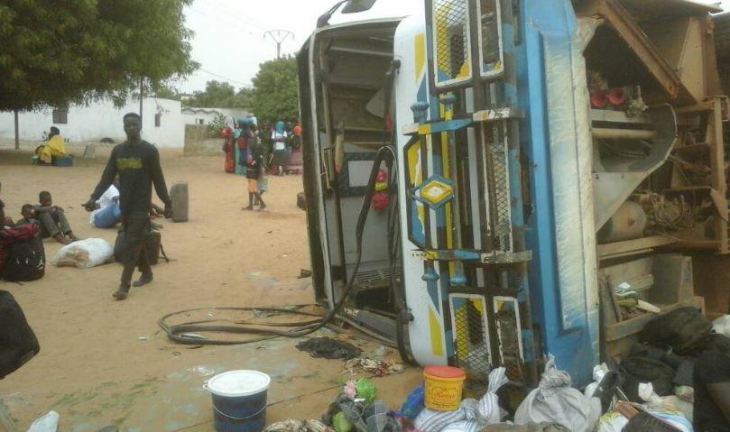 Kaffrine: Plusieurs blessés graves dans un accident survenu à Katakel