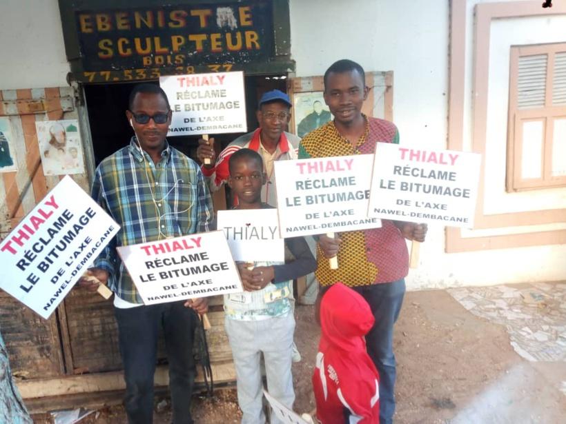 Bitumage de l'axe Nawel-Dembakané: Des ressortissants de Matam marchent vendredi à Dakar
