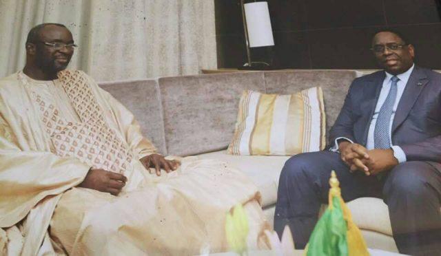 Palais: Macky Sall a reçu Moustapha Cissé Lô