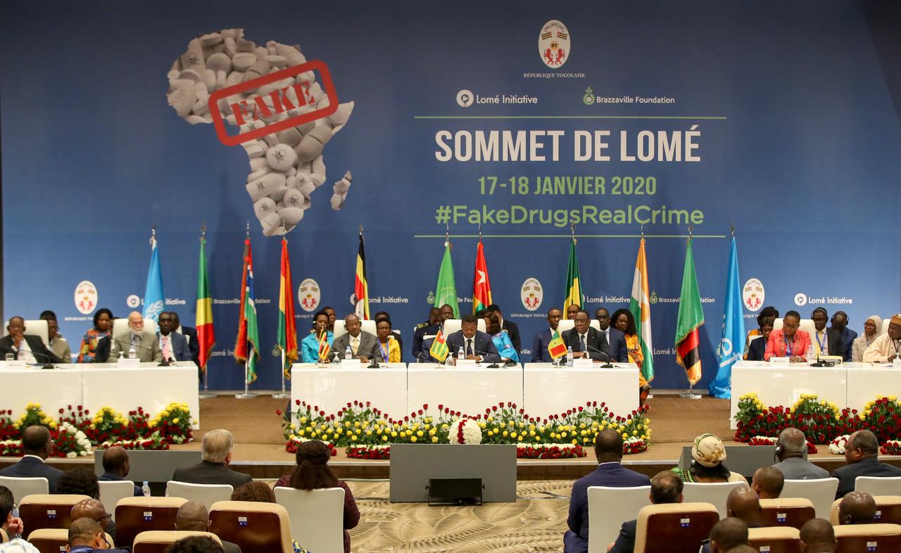 Macky sall au Sommet de la lutte contre les faux médicaments