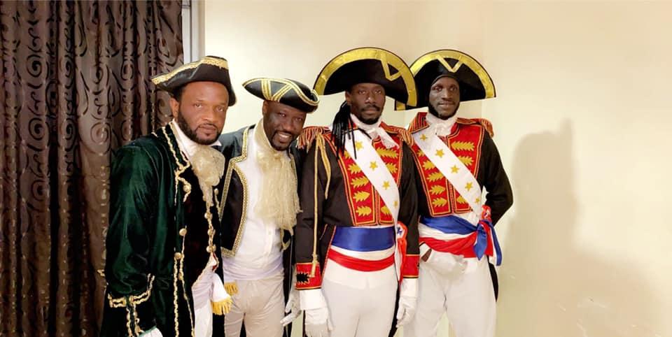 PHOTOS -  Carlou D, Sa Nekh, Jojo et Cheikhouna en mode d'Artagnan