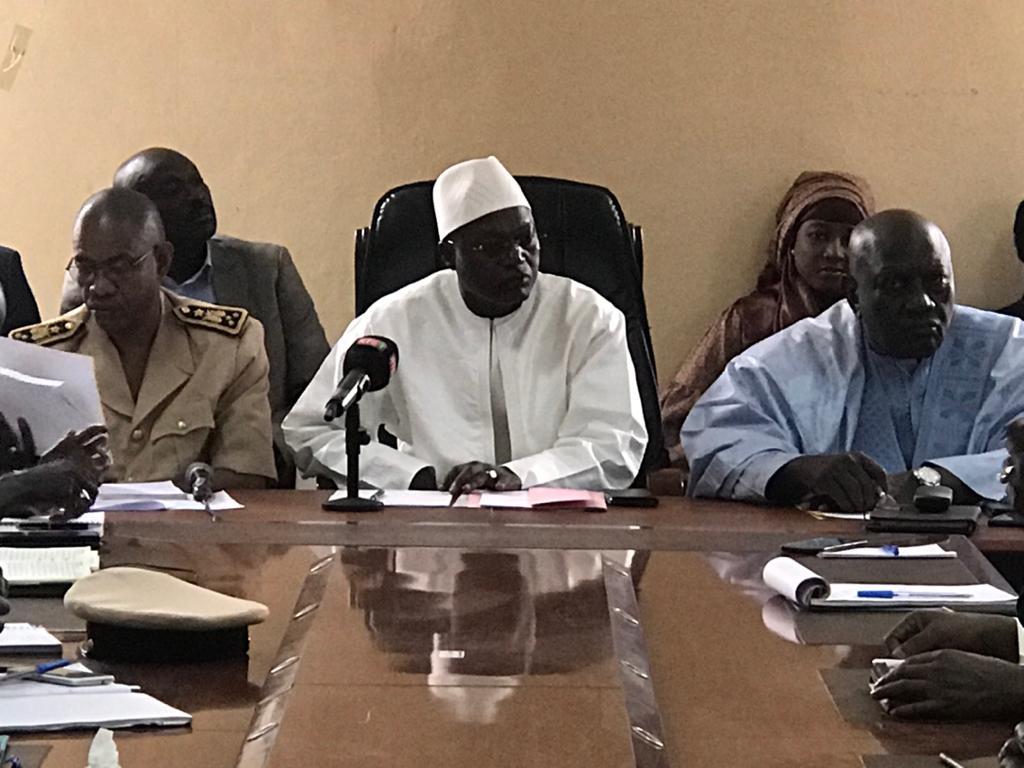 CRD spécial consacré à la mise en œuvre de la Fonction publique locale (FPL), le mardi 21 janvier 2020, Matam.