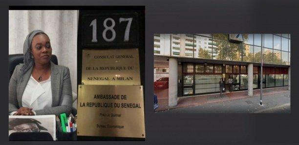 Consulat du Sénégal à Milan: Une fille d'un an chute du 3e étage
