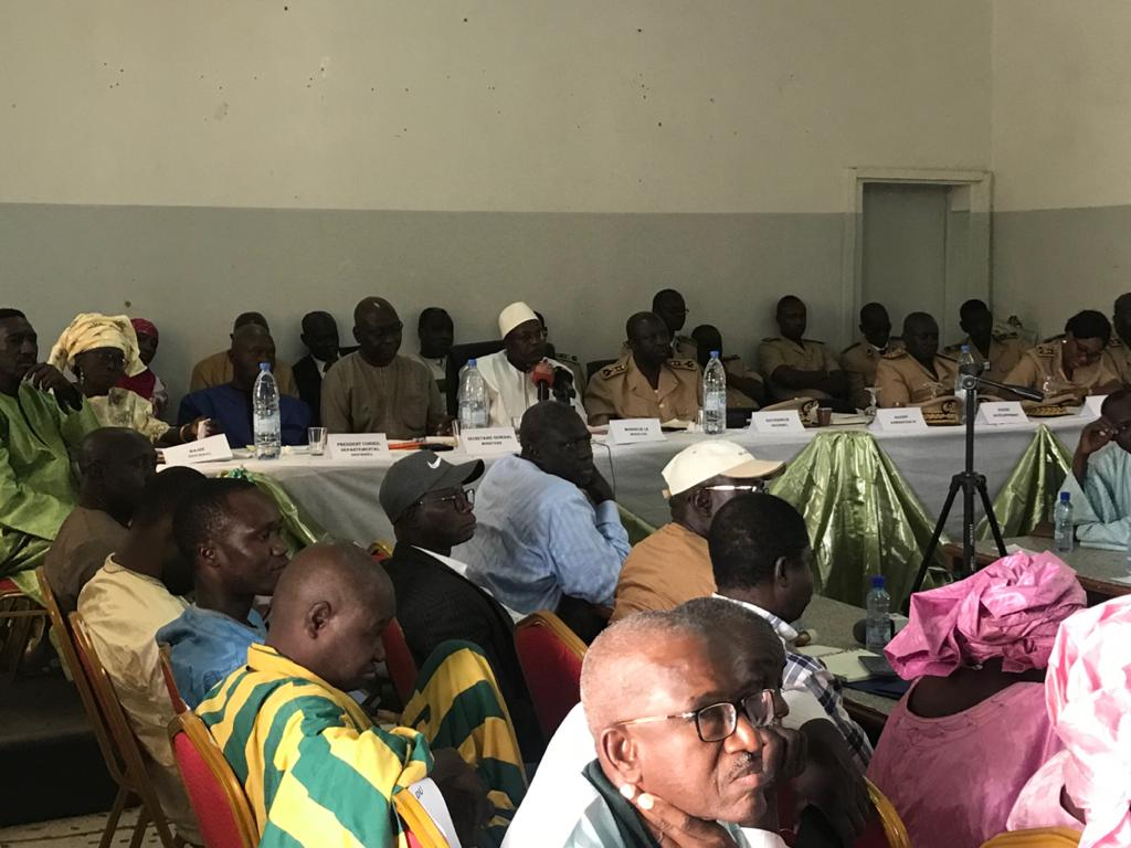 Diourbel: Oumar Guèye en tournée d'information sur la Fonction publique locale