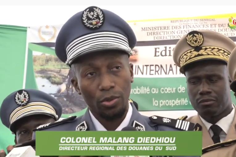 Recettes douanières en Zone Sud: le colonel Malang Diédhiou et ses hommes récoltent  2,4 milliards FCFA