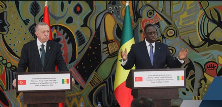Sénégal: le Président Macky Sall « satisfait » du travail des entreprises turques