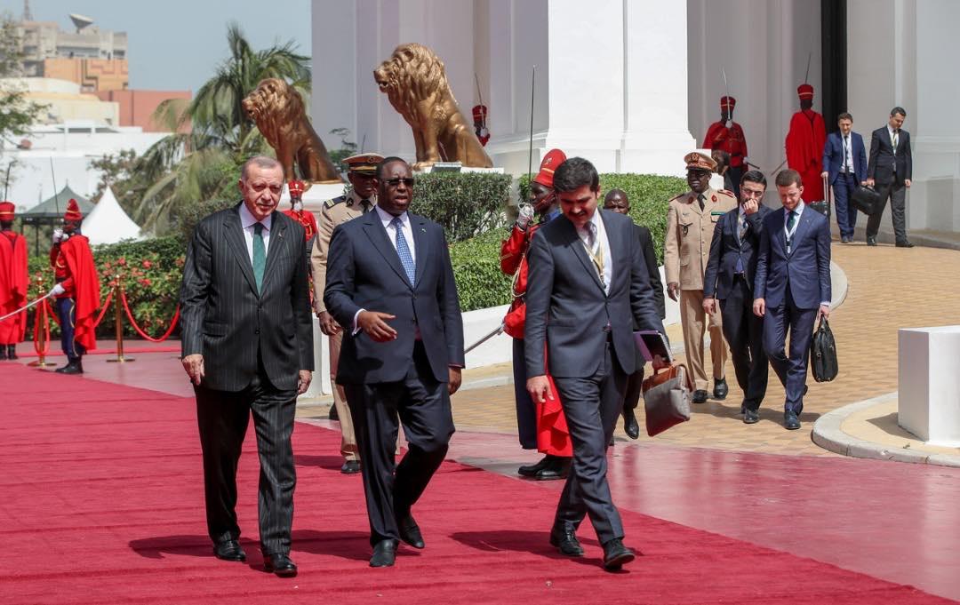 Revivez en images la visite officielle de Recep Tayyip Erdogan à Dakar