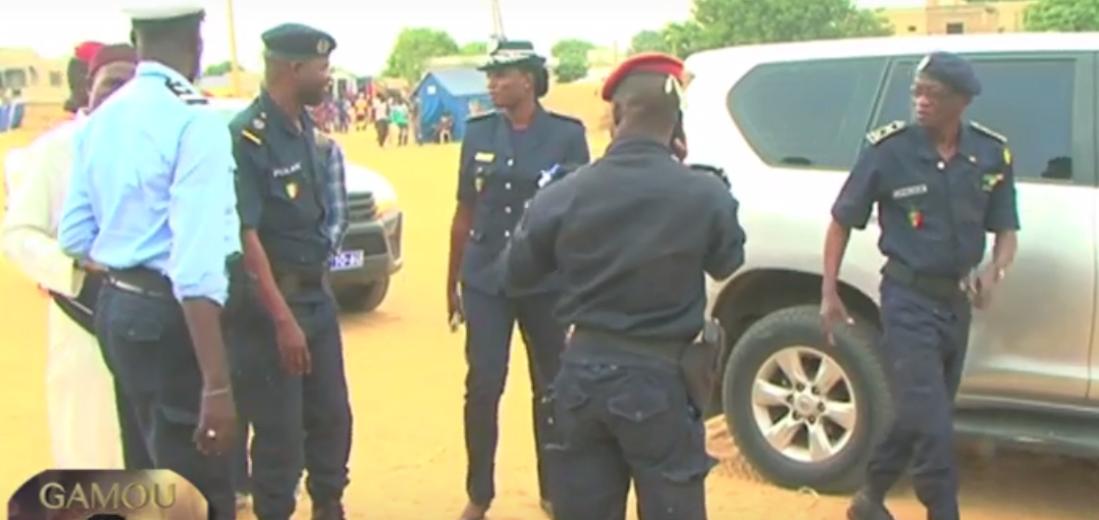 Opération de sécurisation: Plus de 152 personnes interpellées