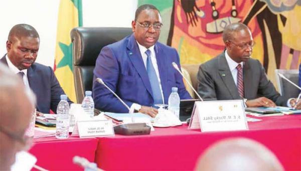Communiqué du Conseil des ministres du 29 Janvier 2020