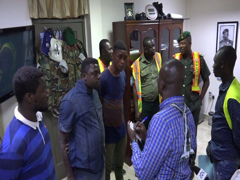 3 passagers clandestins nigérians qui pensaient aller en Espagne, atterrissent au Ghana