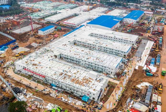 Coronavirus: La Chine ouvre son nouvel hôpital construit en deux semaines à peine