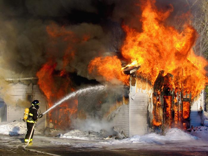 Incendie au marché Petersen de Dakar: Des dégâts matériels importants, enregistrés