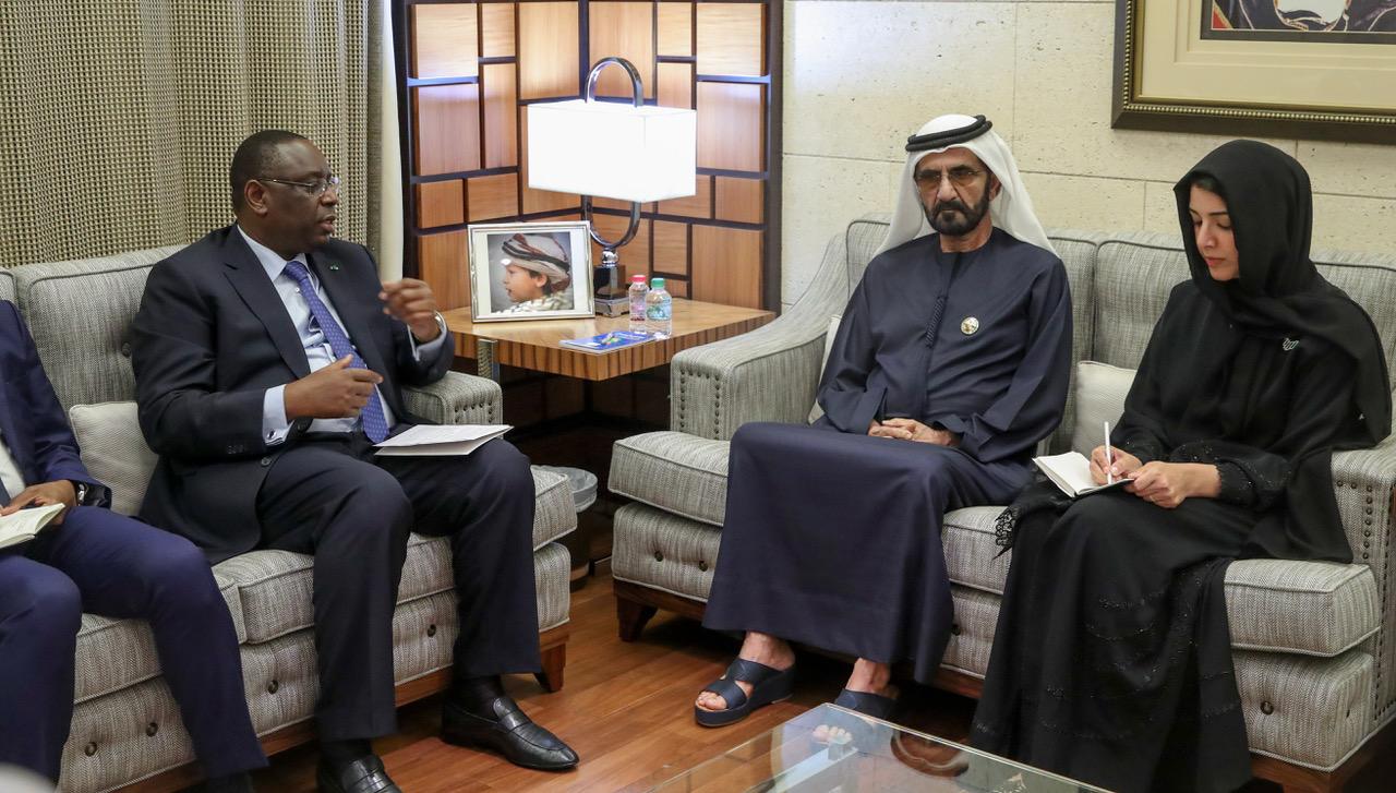 1ère journée du voyage officiel du Président Macky SALL à Abu Dhabi