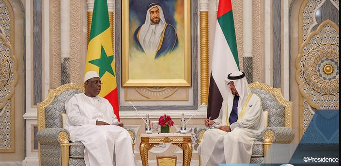 """Macky Sall évoque la """"nouvelle impulsion"""" de la coopération avec les Emirats"""