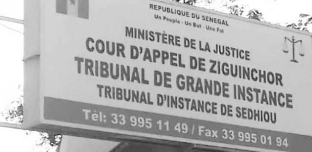 Sédhiou : le tribunal de Grande instance installé