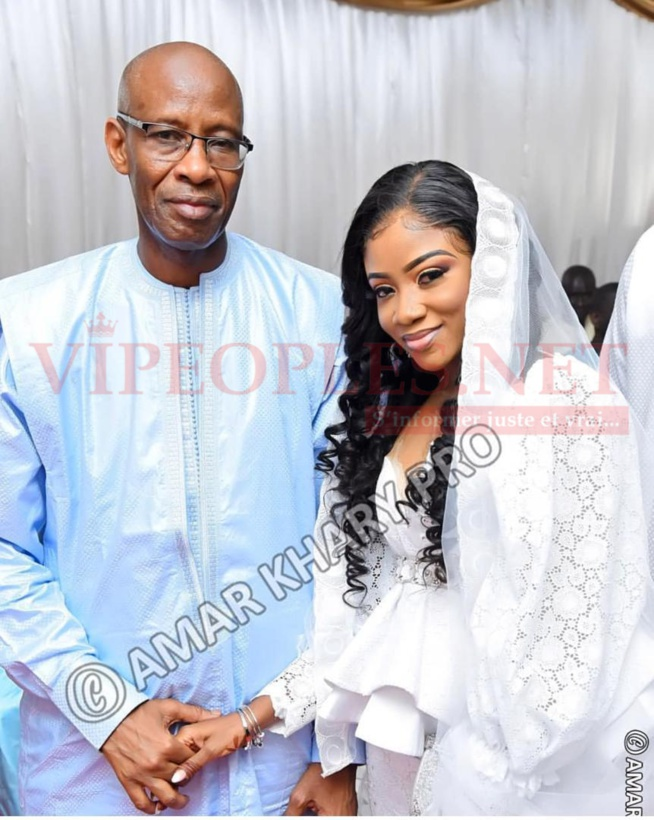 PHOTOS - L'ami intime de Waly Seck, Gap borom Paris épouse la fille du ministre du Travail, Fatou Sy