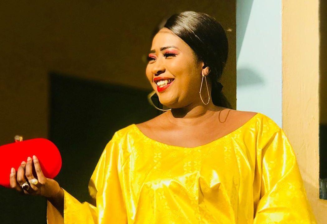 PHOTOS - Admirez le sagnsé de l'actrice Ndèye Ndiaye au mariage de Bébé Sy