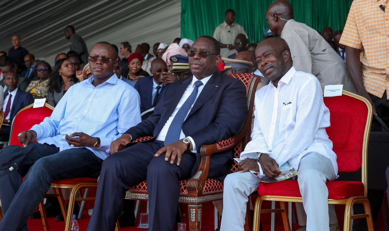 Pose de la Première pierre du Stade du Sénégal 🇸🇳📸⚽️