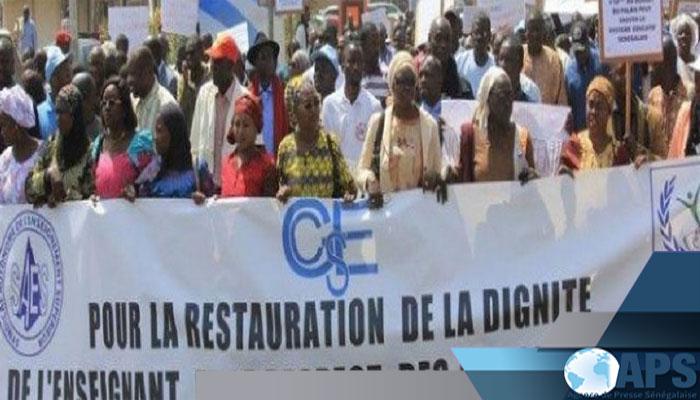 Thiès : le G7 marche pour exiger le respect des accords signés avec le gouvernement