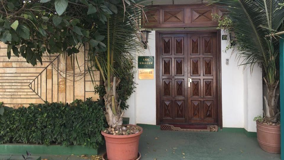 La résidence officielle de la déléguée générale du Québec à Dakar