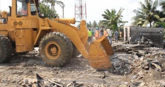 Opération de désencombrement : les bulldozers attaquent Matam