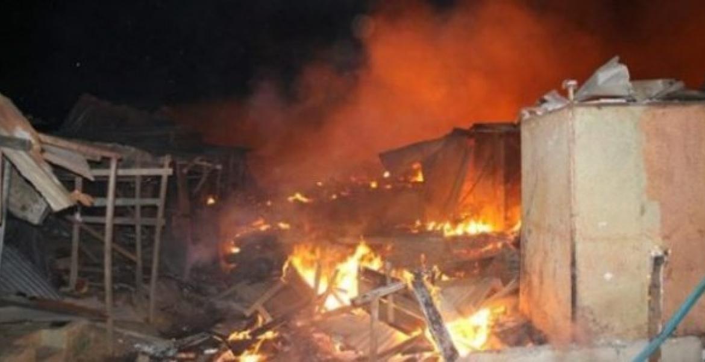 Linguère: Un violent incendie ravage le village de Loumbi Doulo