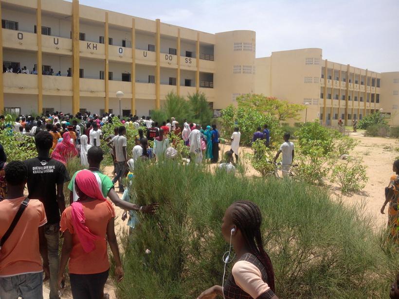 Les élèves du Lycée de Mbacké décrètent une grève illimitée: ils ne veulent pas être contaminés par les enfants du Modou-Modou