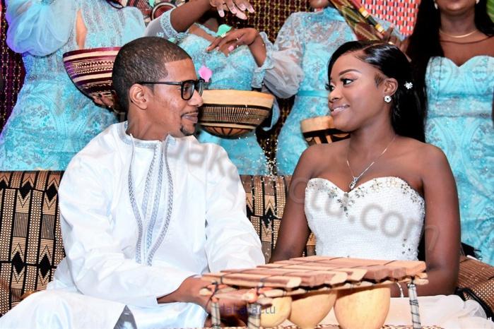 Les Images du mariage de Bineta Khouma Diop, homonyme de Bineta Khouma Saphyr Couture et de Bassirou Diallo