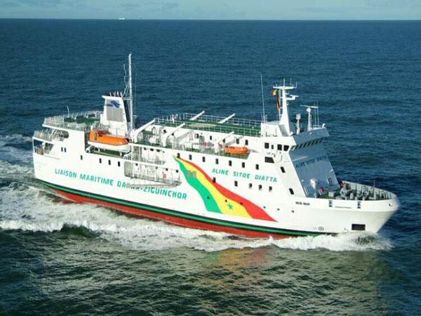 Covid-19 : Tests négatifs pour le couple français et l'équipage du navire Aline Sitoe Diatta