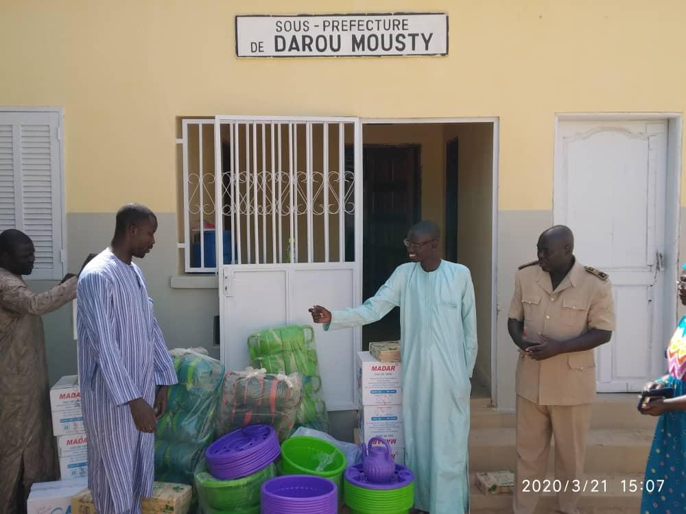Darou Mousty/ Pandémie du Coronavirus : Le Model s'implique dans la lutte contre la maladie