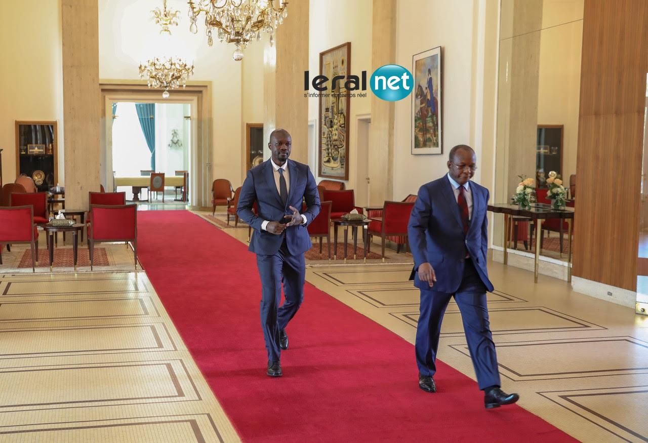 PHOTOS - Entretien du Président Macky Sall avec M. Ousmane Sonko