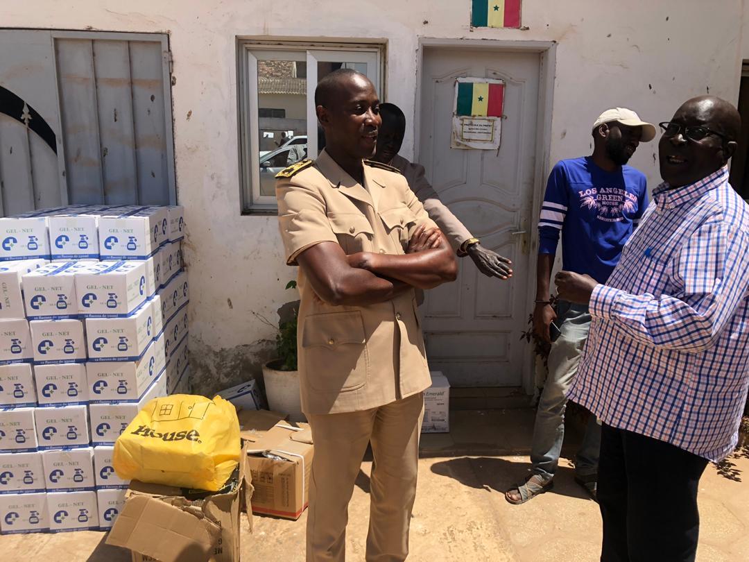 Riposte contre le Coronavirus: Le Ministre Oumar Guèye outille les districts de Rufisque, Diamniadio et Sangalkam