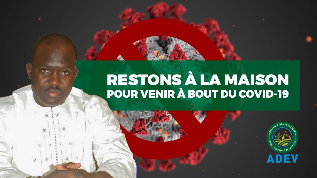 VIDEO - Effort de guerre contre le COVID-19 : Faly Seck, président de l'ADEV, offre 2000 gels hydroalcooliques à l'arrondissement de NDIAYE (vidéo)