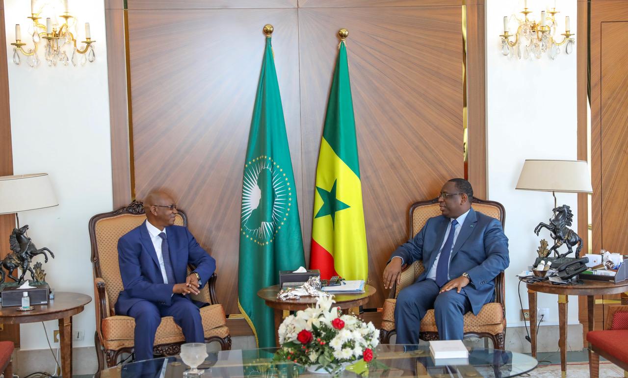 Entretien de M. Cheikh Hadjibou Soumaré avec le Président Macky Sall (images)