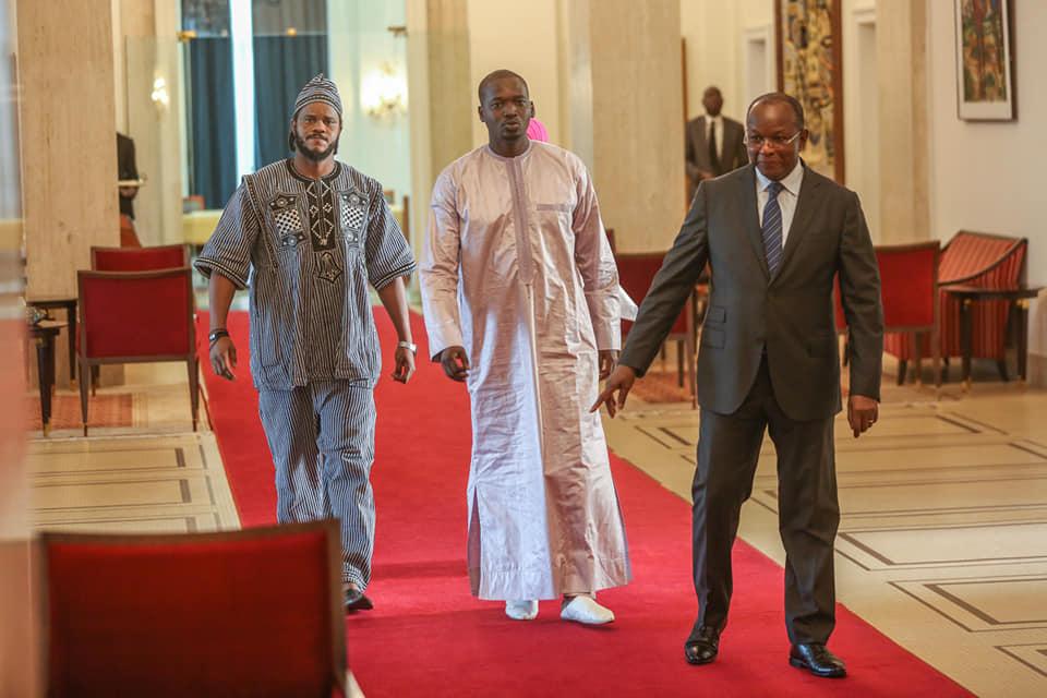 PHOTOS - Audiences au Palais: Le Président Macky Sall a reçu le mouvement Y en a marre