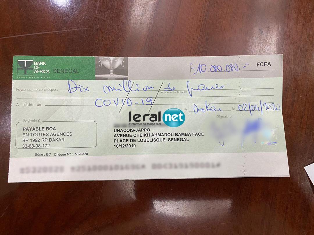 Riposte contre Covid-19 / Téléthon de GFM ( Preuve du sérieux des donateurs )